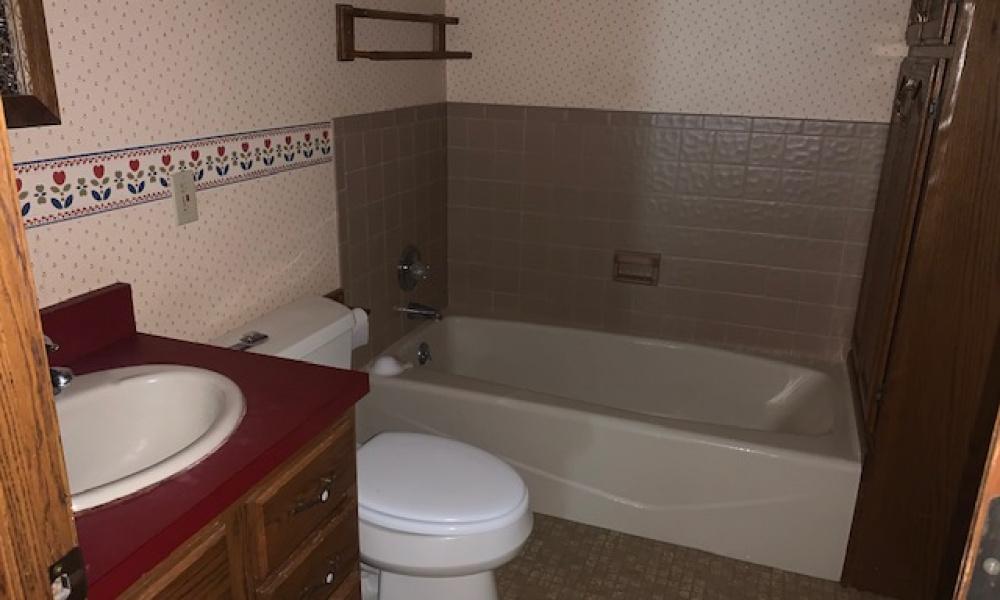 Bathroom on Main Floor